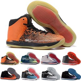 impression poly Promotion Nouveau Retro 31 Shattered Backboard Fine Print Banni Olympic USA Brésil Rio Chaussures de basket-ball pour hommes Chaussures de sport Retros XXXI 31s Chaussures de sport