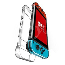 Wholesale thin shell - Ultra-Thin Anti-Scratch Hard Shell PC Back Case Cover for Nintendo Switch Transparent Ergonomic Accessories Skin 2017