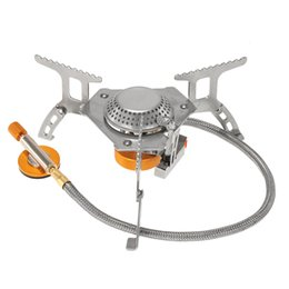Wholesale Normal Clear - Lixada Camping Gas Stove Outdoor Cooking Portable Foldable Split Burner 3000W Y2389