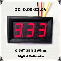 visualizza la variabile Sconti All'ingrosso-Modulo domotico Display LED DC 0.00-33.0V 0.56