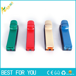 Wholesale Hot Roller Machine - Hot sale Worldwide Roller Hand Cigarette Maker Easy Manual Tobacco Rolling Machine Tool as gift for cigarette accessory