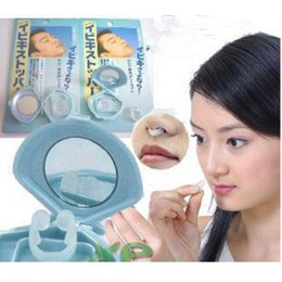Wholesale Wholesale Stoppers - Anti-Snoring Anti Snore Free Nose Snoring Stop Stopper Clip Sleep Sleeping aid Device clip 360pcs lot