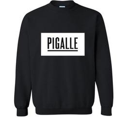 Sudaderas pigalle online-Envío gratis PIGALLE 2017 nuevo otoño invierno hombres sudadera con capucha moda cool streetwear chándal ropa harajuku