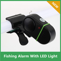 Wholesale Electronic Fishing Bite Alarm - Wholesale- 3pcs Fish Alarm Bell Electronic Fish Bite Strike Alert Clip-On Fishing Rod Pole free shipping