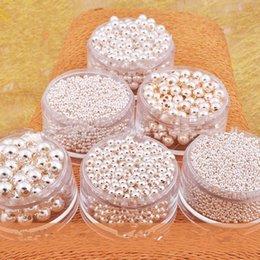 Preis perlen online-silber perlen 925 sterling silber perlen silber spacer perlen lose perlen pandora perle für diy pandora charme halskette großhandel günstigen preis