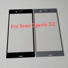 Для Sony XZ F8332 Передняя Внешний Сенсорный Экран Стеклянный Объектив Замена для Sony Xperia XZ Сенсорный экран Внешний Экран Стеклянная Крышка Бесплатный Инструмент от Поставщики замена экрана xperia