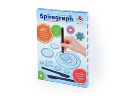 Wholesale Toy Gear Wheels - Spirograph Drawing toys set with 3pcs Pens + 22 Accessories Draw Spiral Designs Interlocking Gears & Wheels, For Adults and Kid