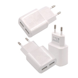 Wholesale Best Branded Tablets - Hot selling dual wall charger home travel charger for samsung galaxy S6 S7 note HTC Huawei tablet all Smartphone Best Price