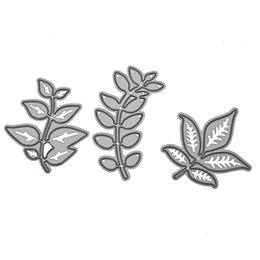 Wholesale Craft Stencils - Tree Branch(3pcs) Cutting Dies Stencil For Scrapbooking Card Paper Embossing Craft