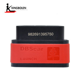 Wholesale Russian Dhl - 100% Original Launch X431 DBScar Bluetooth connector for Launch X431 V Pro V+ Pro 3 Pad II Diagun III DHL Free Shipping