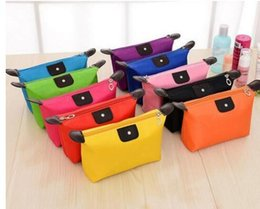 Wholesale Purse Candy Clutch - candy Cute Women's Lady Travel Makeup Bags Cosmetic Bag Pouch Clutch Handbag Hanging Toiletries Travel Kit Jewelry Organizer Casual Purse