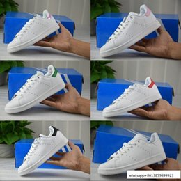 Wholesale Discount Men Shoes Wholesale - 2017 Discount Cheap Stan Smith Skate Sneakers Casual Leather New Color For Men Women Fashion Non-Slip Sport Shoes Running Shoes 36-44