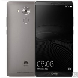 Wholesale Memory 64 - huawei Mate 8 Unlocked Smartphone with 16 MP camera, 4 GB RAM 32GRAM, 64 GB 32G Memory Dual Sim, global Warranty - International Version