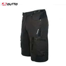 Wholesale Loose Fit Cycling Shorts - OUTTO Men's Outdoor Sports Shorts Camping Ropa Breathable Loose Fit For Running Cycling Bicycle Bike Riding Hiking Shorts