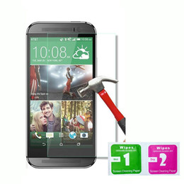 Wholesale Max One - 0.33mm 9H 2.5D Premium Tempered Glass screen Protector For HTC Desire 626 530 630 728 628 828 HTC One MAX M9 M10 A9 Without Retail-box