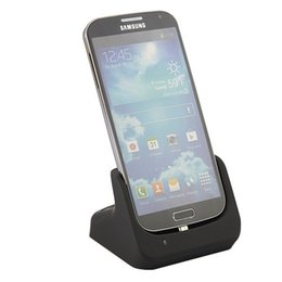 Wholesale Dock Station Galaxy S3 - Free Shipping 2014 New Micro USB Charger Dock Stand for Samsung Galaxy S3 S4 Power Docking Station