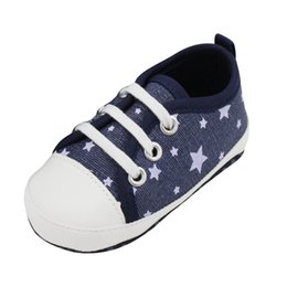 Wholesale Cute Baby Girl Cribs - Wholesale- Newborn Kids Infant Toddler Baby Boy Girl Soft Soled Crib Shoes Sneaker Cute L07