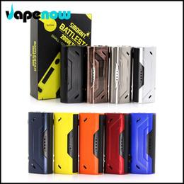 Al por mayor-Original Cloupor Smoant Battlestar Box Mod 200W TC Mod Enorme Vapor Cigarrillo electrónico 18650 Vaporizador Mod desde fabricantes