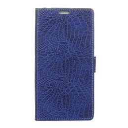Wholesale Crocodile Flip Phone - Crocodile Pattern Case For Galaxy S8 Cover Premium PU Leather Wallet Case Flip Phone Case Cover with Card Slots for Samsung S8 G950