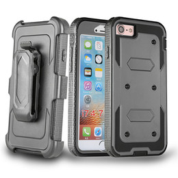 Wholesale Belt Clip Combo - For Motorola Moto E4 Metropcs For Motorola Moto E4 Boost Cheers boost Hybrid Armor Heavy phone Case Holster Combo Shockproof Belt clip A