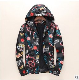 Wholesale Regular Show Jacket - Hot sale New spring and autumn show jacket men fashion digital printing jacket high - end leisure