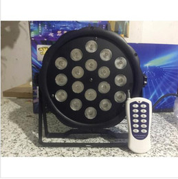 Discount american dj par led - 50m Wireless control 18x8W RGBW American DJ Mega Quad Par Profile Bright Stage LED Wash Light RGBW Color Mixing 6pcs lot