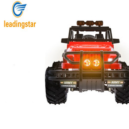 Wholesale Road Racer - Wholesale- LeadingStar 2WD Brushed RC Car 1 14 Scale Electric Rock Racer Desert Off-Road Truck with 2.4GHz Radio Control RTR zk30