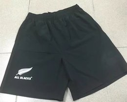 Wholesale Flash Pants - 2017 2018 Newest New Zealand All Blacks rugby jersey Hurricanes Sports pants Chiefs Highlanders rugby Shorts s-3xl