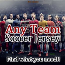 Wholesale Sweater Woman Purple - Football Shirts Any Team all in one kids woman Soccer Jersey jacket sweater Man shirts tracksuit MESSI Best Quality