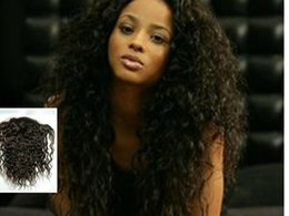 Wholesale Hair Extentions Clips - 7A Unprocessed Brazilian Human Hair Extentions 1b color Brazilian Deep Curly Virgin Hair Kinky Curly Clip In Hair Extensions Curly Weave