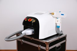 Wholesale Laser Eyebrow Machine - 1064nm 532nm 1320nm Q Switched Nd Yag Laser Tattoo Eyebrow Pigment Removal Machine Scar Acne Remover