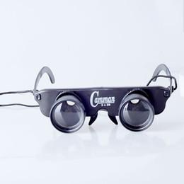 Schwimmende gläser online-Großhandels- Freies Verschiffen 3x28 Fischen-spezielle Gläser, die Teleskop fischen, zoomen polarisierte Gläserspiel, das Fischenfloss beobachtet