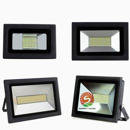 Wholesale 15w Led Chip - Hot Sell LED floodlights 15W 30W 60W 100W 150W 200W SMD Led chips SMD4014 Flood Garden light for outdoor lighting waterproof landsacpe lamp