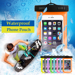 Wholesale Dirt Proof Iphone Case - Universal water proof case for samsung galaxy s7 s6 Iphone 5 6 6S 7Plus,Cell Phone Dry Bag waterproof phone bag