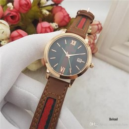 Wholesale cheap boys christmas gifts - Cheap Luxury brand mens watches Leather strap Quartz Wristwatches Automatic Date watch For men boy best gift Clock Relogio Masculino 2017