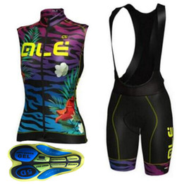 Wholesale Pro Compress - 2017 High quality ALE Summer Pro Women cycling jersey Ropa ciclismo and bib shorts set XXS-6XL Can be mixed size#A6046