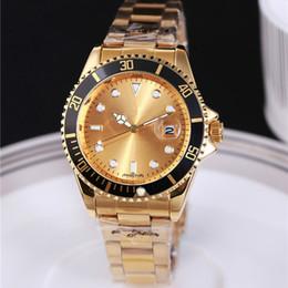 Wholesale Bands Display - Stainless Steel Belt Band Luxury Watch Men's Watch Diving Submarine Display Quartz Analog Waterproof Wristwatches Clock Round Dial