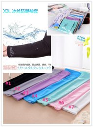 Wholesale Arm Sleeves Pairs - Unisex Sports Sun Block Anti UV Protection Sleeves Driving Arm Sleeve Cooling Sleeve Covers 2pcs pair YYA127