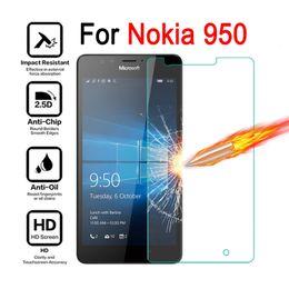 Wholesale Screen Protectors Lumia - Tempered Glass Screen Protector Film For Nokia Microsoft Lumia 950 Tempered Glass Film Anti Scratch Anti Impact Protective Film