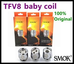 Wholesale Core Engines - Authentic SMOK TFV8 Baby Coil Head Replacment T8 X4 T6 Q2 Beast Coil Engine Core for Sub Ohm Tank