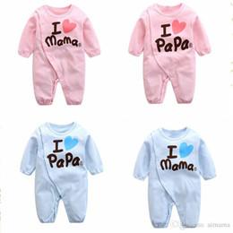 ebf991a33ac48 Nouveau-né bébé pyjama enfants mignons bébé pyjama rose et bleu manches  longues respirant effectuer des pyjamas 1 pièce 0-12 mois avec haute qualité
