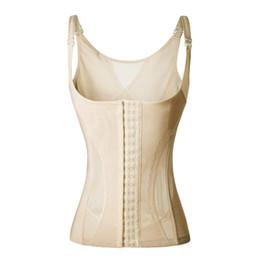 Wholesale Halter Corsets Tops - Wholesale- Belly Band Waist Tummy Slim Control Corrective Underwear corset halter Top Body Shaper Shapewear For Women