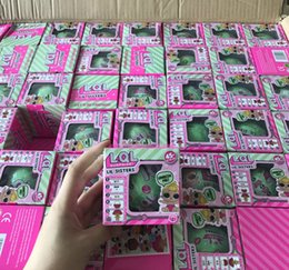 Wholesale Wholesale Dress Boxes - LOL Surprise Dolls Unpacking Dolls Dress Up Toys Baby Tear Open Change Egg Dolls spray Kids Gift Single Retail Box