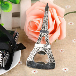 Wholesale Eiffel Tower Wine - Eiffel Tower Bottle Openers Party Favors Wedding Shower Gift Kitchen Gadgets Corkscrew for Wine Opener