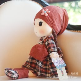 Wholesale Wholesale New Finger Genuine - Hwd Grandlux Duffy. Series New Pattern Sound Made By A Hen Phyl Genuine Dressing Girl Plush Doll Toys Pillow