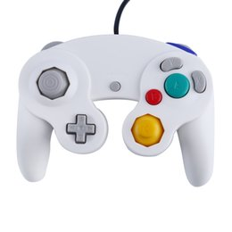 Wholesale New Gamecube Games - New Game Controller Gamepad Joystick five color for Nintendo for GameCube For Wii