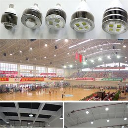 Wholesale High Bay Led Retrofit - E27 E40 Hook Led Retrofit Bulb 50W 100W 120W 150W 200W 300W 400W Led High Bay Lighting Replace Halogen Lamp Hall Lights