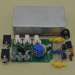Wholesale Kit Diy Pedal Guitar - Wholesale- DIY Overdrive Guitar Effect Pedal True Bypass Electric guitar stompbox pedals OD2 Kits Aluminum