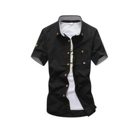 Wholesale Orange Mushrooms - mens polo shirts plus size 5xl mushroom embroidery mens casual shirts short sleeve summer cotton shirt men social polo hombre manga corta