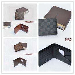 Wholesale Sports Best Fashion - Best quality 2017 Male Genuine Leather luxury wallet Casual Short designer Card holder pocket Fashion Purse wallets for men